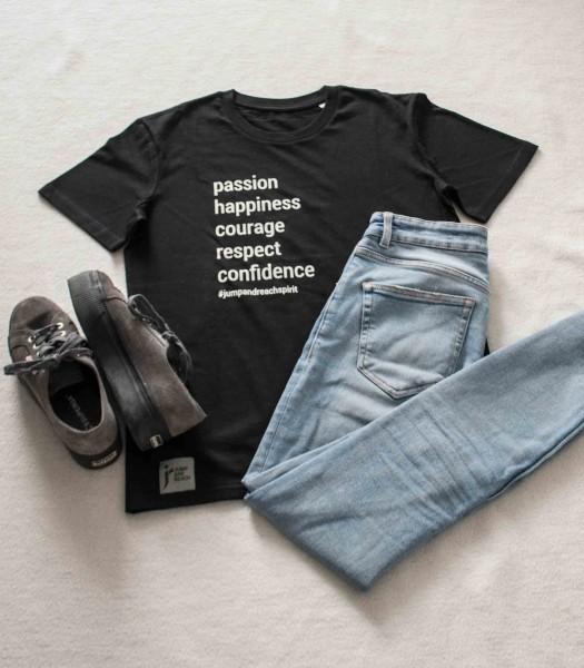 """T-Shirt Damen versch. Farben """"Values List"""""""