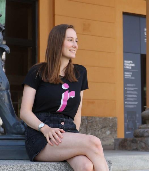 """T-Shirt Damen schwarz """"Icon versch. Farben"""""""